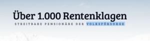 Screenshot Rentenklagen-Webseite